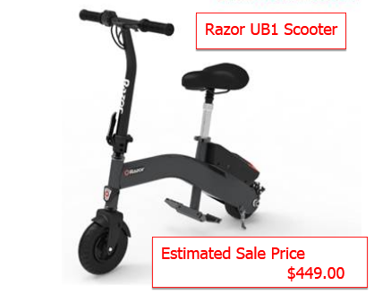 The Razor UB1 Scooter